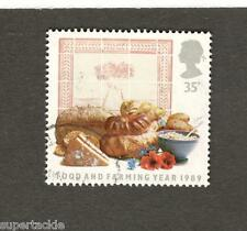1989 Great Britain 35p SC #1251 Θ used stamp Food and Farming