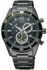 Citizen Alterna Eco-Drive Chronograph Stainless Steel Men's Watch VO10-6743F