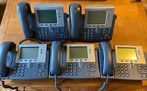 cisco IP phone7942 Lot Of 5