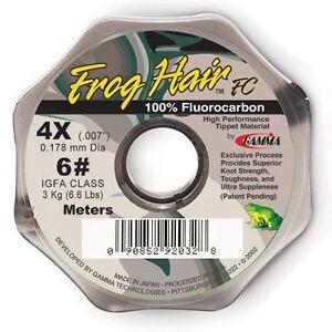 Frog Hair FC, Fuorocarbon Vorfachspule 25m, Vorfach, Tippet