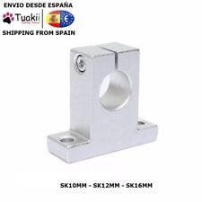Soporte Cojinete SK10-12-16 CNC Eje Carril Lineal Fresadora Impresora 3D