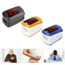 Finger Pulse Oximeter Oxygen Saturation Monitor Heart Rate Blood Oxygen O2 Meter