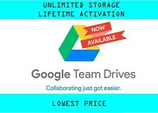 Google Unlimited Team Drive [ BUY 1 FREE 3 PROMO]