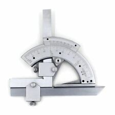 320 Degree Universal Bevel Protractor Angular Dial Stainless Steel Angle Gauge