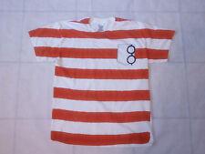 Where's Waldo Striped Shirt Size Large