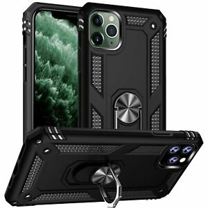 Phone Case for iPhone 12 11 XR XS Max 6S 7 8 Plus Armor Case Finger Ring Holder