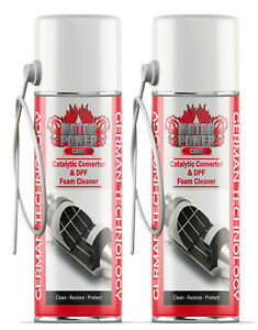 2 x cans Diesel Particulate Filter ( DPF ) Cleaner With Hose Foam cleaner
