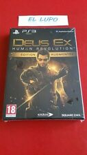 DEUS EX HUMAN REVOLUTION EDITION AUGMENTEE PS3 SONY NEUF SOUS BLISTER VF