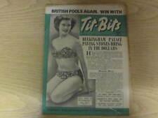 August 1952, TIT-BITS, Sylvia O'Neal, Harold Gimblett, Martine Carol, Jack Young