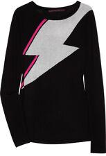 Bella Freud   'Bowie' Intarsia Lightning Bolt Merino Wool Jumper   Size Medium⚡️