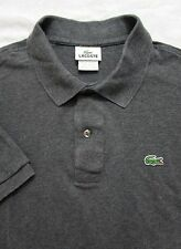 Men's LACOSTE polo shirt sz 7 ~ rugby Gray EUC ~ XXL