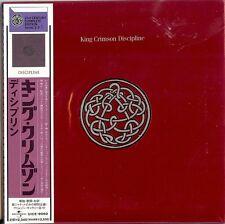 KING CRIMSON - DISCIPLINE  CD  2004  UNIVERSAL  JAPAN  PAPER SLEEVE