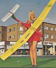 CHOBHAM HAWK   Sailplane, Glider, 108 inch  WS RC AIrplane Prined Plans