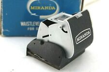 Miranda VF-1 Waist Level Viewfinder For SENSOMAT, with pop up magnifier, boxed