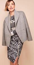 TALBOTS Animal Print Pencil Skirt Visible Front Zip 22W NWT Woman (MSRP $119)