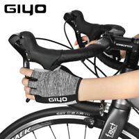 Half Finger Cycling Gloves Racing Bicycle Mitts Shockproof Pad Bike MTB Gloves