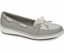 7aa72066ecb Grasshoppers Windham Loafers Slip On Comfort Shoe Stripe Gray Pick A Size  Wide