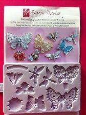 Karen Davies Buttefly Butterflies & Insect Brooch Sugarcraft Mould  NEXT DAY DES