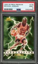 1995/96 Skybox Premium Electrified Michael Jordan #278 PSA 9