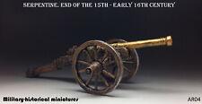 Artillery Serpentine Tin toy soldier 54 mm figurine metal sculpture HAND PAINTED