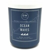 DW Home Extra Large 25.4oz Double Wick Scented 90 Hrs Candle - Ocean Waves Scent