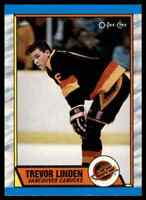 1989-90 O-PEE-CHEE TREVOR LINDEN RC VANCOUVER CANUCKS #89