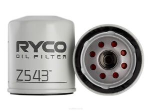 Ryco Oil Filter Z543 fits Citroen Xsara 1.6 16V, 1.6 i, 1.8 i, 1.8 i 16V, 2.0...