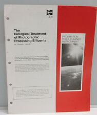 Kodak Biological Treatment Photo Processing Effluents Guide 1975 J-46 USED B130