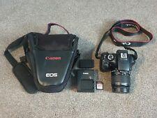 Canon EOS 1100D 12.0MP Digital SLR Camera - Black (Kit w/ EF-S 18-55mm III Lens)