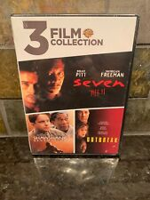 Seven/The Shawshank Redemption/Outbreak [New Dvd] 3 Pack