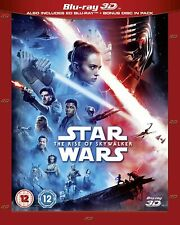 Star Wars: The Rise Of Skywalker - Blu-Ray 3D + 2D [Region Free Disney 3D] New