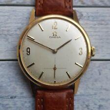 Vintage Omega 14ct Solid Gold Men's Watch
