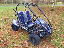 TRAILBLAZER CHILDRENS KIDS BUGGY 6.5hp AUTO ELECTRIC & PULL START SUIT 8 TO 14YR