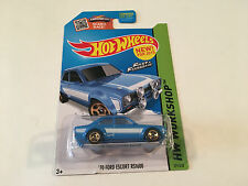Hot Wheels Workshop Fast & Furious Ford Escort RS1600 Rally Blue Diecast 1:64
