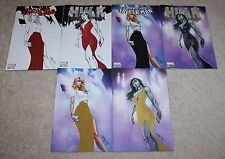 AMAZING SPIDER-MAN 23 HULK 1 J SCOTT CAMPBELL GOLD VIRGIN BUNDLE VARIANT 6-PACK