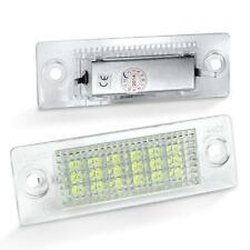 Kennzeichenbeleuchtung LED Weiß Skoda Superb+VW Caddy+Touran+Passat 3B+T5 LED