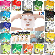 40PCS Korean Essence Facial Mask Sheet Moisture Face Mask Acne Blemish Treatment