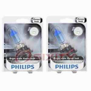 2 pc Philips High Low Beam Headlight Bulbs for Jeep Liberty 2002-2007 ki