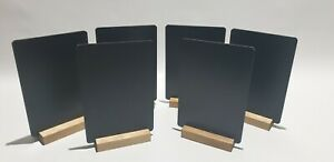 CHALKBOARD BLACKBOARD PUB -TABLE TOP A5 x 6  FOR LIQUID CHALK + A FREE PEN