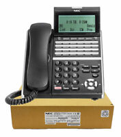 NEC ITZ-24D-3 IP Phone Black (DT830) Brand New, 1 Year Warranty