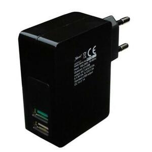 3A 2xUSB Handy Ladegerät schwarz Xenic RT-35 Black 15W