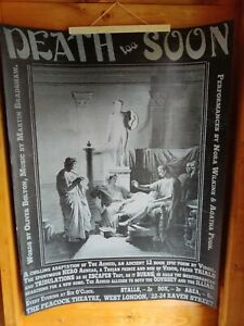 Large Victorian Style Billboard Poster sideshow circus curiosity Halloween 92x68