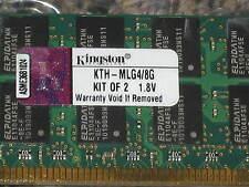 KTH-MLG4/8G 8GB DDR2 PC2-3200R DDR2-400MHZ 2546X4 36CHIPS 240PIN ECC REGISTERED