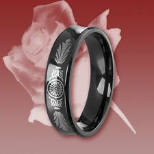 1 Titan Ring, Freundschaftsring, Verlobungsring, Ehering, Trauring mit Gravur