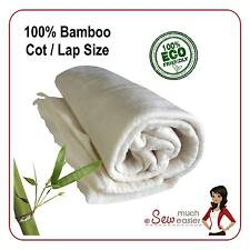 Bamboo Quilting Batting for Quilts Patchwork fabric Cot Lap Size Quilt Wadding