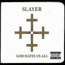 SLAYER - God Hates Us All [Digipak] [Limited] 2001 (CD) Thrash Metal