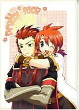 Tales of the Abyss doujinshi Asch x Luke Pretty Face Okirakutai