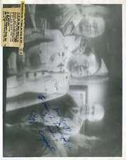 PAPPY BOYINGTON BA BA BLACK SHEEP SIGNED JSA COA 8X10 PHOTO AUTHENTIC AUTOGRAPH