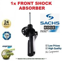 1x SACHS BOGE Front Axle SHOCK ABSORBER for BMW 1 (F21) 116d 2011->on