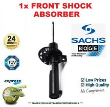 1x SACHS BOGE Front LEFT SHOCK ABSORBER for PORSCHE CAYENNE 4.8 GTS 2012->on